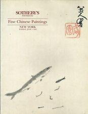 SOTHEBYS Chinese Paintings Catalog 1993 Ding Yanyong Lin Fengmian Zhand Daqian