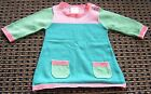 SEED BABY GIRLS COTTON KNIT DRESS SZ 0 - 3 MONTHS