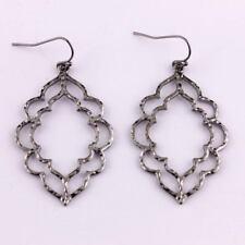 Morocco Cutout Hollow Statement Dangle Drop Earrings for Women Jewelry Girl Gift