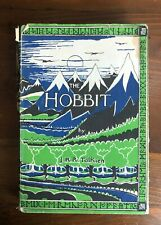 THE HOBBIT JRR Tolkien Early Edition HB/DJ 23rd Printing HMCo 1961