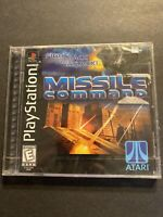 New Missile Command (Sony PlayStation 1 , 1999) PS1 Unopened Factory Sealed