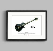 James Hetfield's JH-3 ART POSTER A3 size