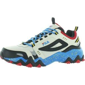 Fila Mens Oakmont TR Leather Workout Exercise Hiking Shoes Sneakers BHFO 9826