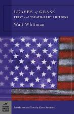 Leaves of Grass : First and Death-Bed Editions by Walt Whitman