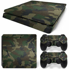 Skin Cover Decals Camo Camouflage Sticker 2 Controller for Ps4 Slim Console
