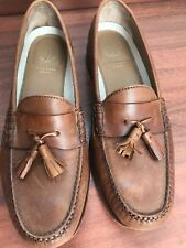 Cole Haan Pinch Grand Tassel Loafer Dress Shoes Brown Size Men's 11