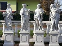 XXL DEKO OPA 67 cm HOLZBANK Garten Figuren Menschen Bank GROSSELTERN Skulptur