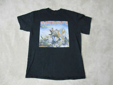 Iron Maiden The Trooper Concert Shirt Adult Medium Black Band Tour Rock Music