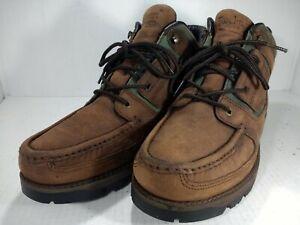 ROCKPORT XCS Gore-Tex Vibram Leather Hiking/Walking Boots Men's Size 9.5 W  Brow