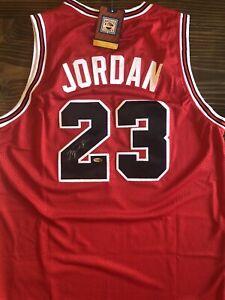Michael Jordan Signed Jersey (COA)