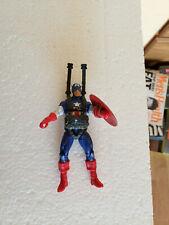 """Marvel Universe Captain America Paratrooper Dive Parachute 3.75"""" Figure Loose"""