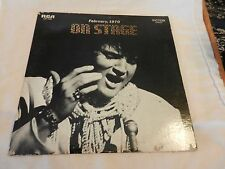 Elvis Live On Stage February, 1970 LP RCA Records LSP-4362 from 1970