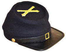 American Civil War US Artillery Enlisted Kepi Cap Hat & Badge Medium 56/57cms