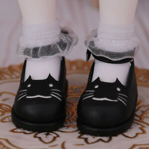 New Black Shoes For 1/6 BJD Doll SD Doll  Body