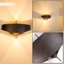 Wand Leuchten Design Wohn Schlaf Raum Lampe Bronze//Braun Flur Dielen Beleuchtung