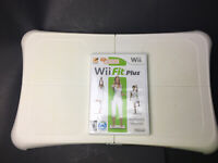Wii Fit Balance Board & Wii Fit Plus Game/Disc Fitness Exercise Workout Healthy