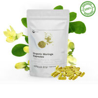 Organic Moringa Capsules (ANCIENT SUPERFOOD) THE MIRACLE TREE 900MG CAPSULES