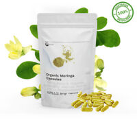 Organic Moringa Powder (ANCIENT SUPERFOOD) THE MIRACLE TREE 900MG CAPSULES