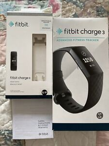 Fitbit Charge 3 & Pebble BOXES ONLY And Safety Instructions