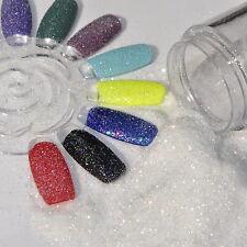 Shiny Colorful Clear White Nail Glitter Spark Hexagon Paillette Nail Powder 408