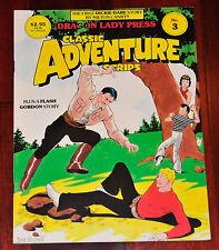 Classic Adventure Strips #3 Magazine Flash Gordon CLEAN