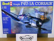 Revell Germany 4781 USN Vought F4U-1A Corsair Fighter model kit 1/32