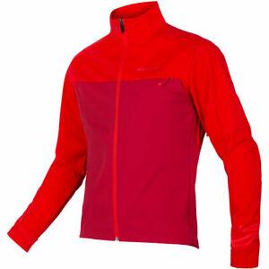 Endura Windchill Windproof Thermal Softshell Cycling Jacket II - Red