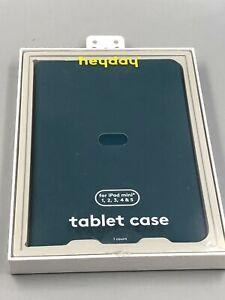 Heyday iPad Mini 1, 2, 3, 4 & 5 Tablet Case Nebulas Blue Teal  - New open box