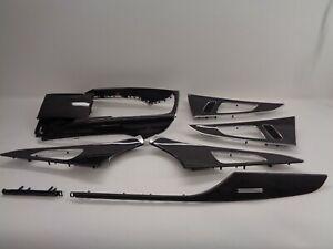 Original Audi RS6 4G Carbon Dekorleisten Dekor Karbon Zierleisten S6 C7 RS