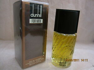 ** VINTAGE ** DUNHILL FOR MEN by SCANNON GMBH 3.4 oz / 100 ML EDC Natural Spray