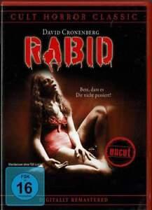 """RABID"" - David Cronenberg - Horror Kult Klassiker - DVD - UNCUT - neu/OVP"