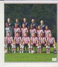 AH 2010-2011 Panini Like sticker 202 PSV Eindhoven Team Right