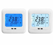 Programmable LCD Touch Screen Thermostat For electric heating mat/panel 16A
