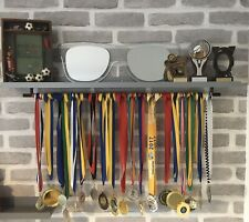 🏅 Wide Medal Hanger & Trophy Display Shelf Gymnastics Football Rugby Cricket🏆