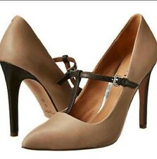 Coach Fulton cow baby t-strap pumps 7 Women's high heel pumps night out shoes