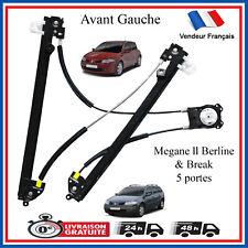Mécanisme de Leve Vitre Avant Gauche pour Renault Megane 2 (5 Portes) 8200325136
