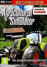 AGRICULTURAL SIMULATOR  BRAND NEW EXTENDED VERSION. SHIPS  FAST and SHIPS FREE!