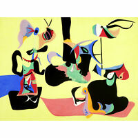 Gorky Garden Sochi Abstract Expressionist Painting Extra Large Art Poster