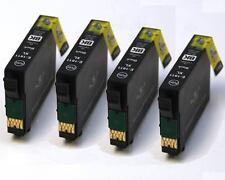 4 Black Ink Cartridges for 18XL XP-302 XP-305 XP-402 XP-405 XP-405WH