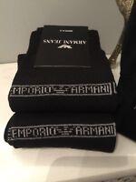 Mens armani socks 6-11 BLACK gift NEW! January SALES!