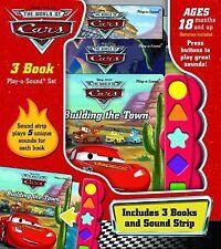 Disney Pixar Cars 3 Book Play-a-Sound Set 3 Years & Up NEW