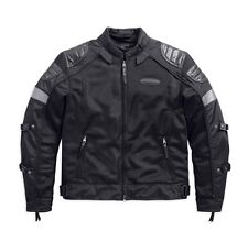 HARLEY DAVIDSON MENS FXRG TRIPLE VENT JACKET 98094-15VM MEDIUM