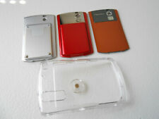 BlackBerry 8330 Lot : 3 Back Door Battery Covers (2 Extended) + Clear Phone Case