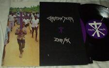"CHRISTIAN DEATH Zero Sex/The Nascent Virion (1989) 12"" LP UK Goth Metal Jungle"