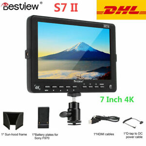 "Bestview S7 II 7"" 3D 4K HDMI HD On Camera LCD Field Monitor 1920*1200 for DSLR"