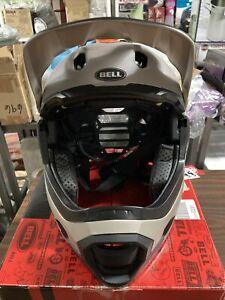 ! Bell Super DH MIPS Adult Small MTB Bicycle Bike Helmet Matte Gloss Sand/Black