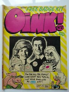 OINK COMIC - Issue #2 (May 1986)