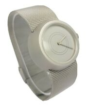 Axcent of Scandinavia Phases Ladies Stainless Steel Mesh Bracelet Watch A