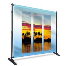 Banner Stand Custom Print Step & Repeat Backdrop 10'W 8'H