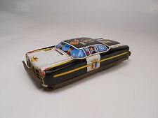 VINTAGE 1960s JAPAN TN NOMURA POLICE CAR TIN LITHO FRICTION 6544 MEASURING 3.5""